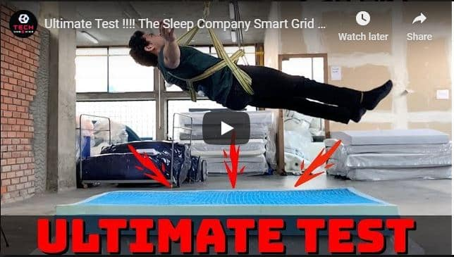 Ultimate Test !!!! The Sleep Company Smart Grid Mattress | Best Mattress